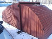 установка гаража во дворе многоквартирного дома